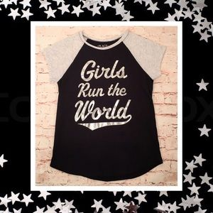 """🦄 Place """"Girls Rule the World"""" T-Shirt"""